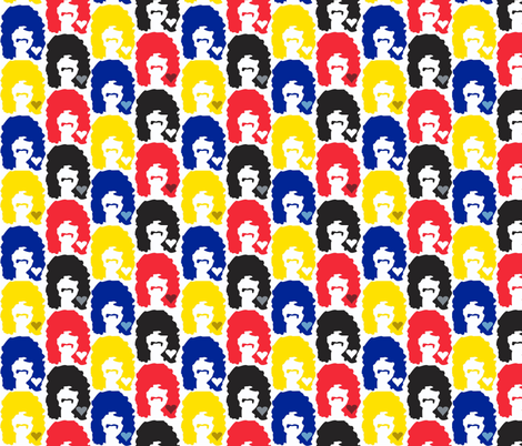 Man Love Primary fabric by dolphinandcondor on Spoonflower - custom fabric