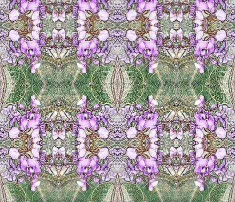 Hardenbergia fabric by engelstudios on Spoonflower - custom fabric