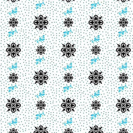 Fleur-de-lis butterfly dots   fabric by paragonstudios on Spoonflower - custom fabric