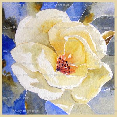 Lemon Rose and Lattice