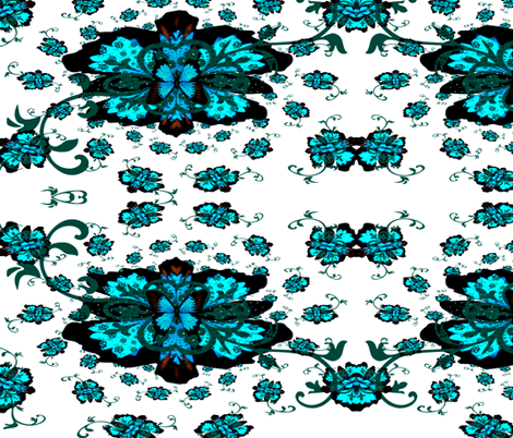 Fleur-de-lis butterfly   fabric by paragonstudios on Spoonflower - custom fabric
