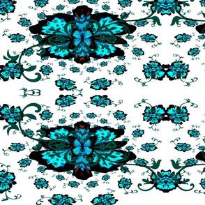 Fleur-de-lis butterfly