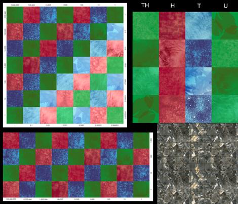 Montessori Math Saver Set fabric by evenspor on Spoonflower - custom fabric
