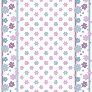 Summer Flowers w/ Border