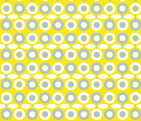 Summer Blues fabric by sticklas on Spoonflower - custom fabric