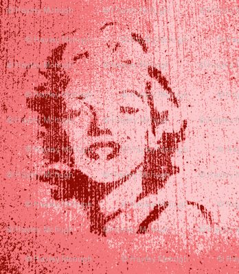 Concrete Marylin in pink