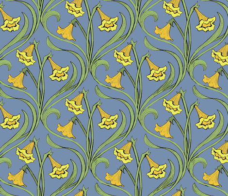 A Spring Thing II fabric by ceanirminger on Spoonflower - custom fabric