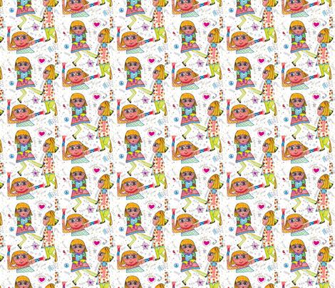 Bobbie Swing-255 fabric by kkitwana on Spoonflower - custom fabric