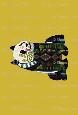 panda ochre custom panel