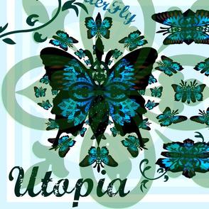 Fleur-de-lis butterfly  Mothers Garden