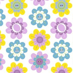 Vintage Flowers - Springtime