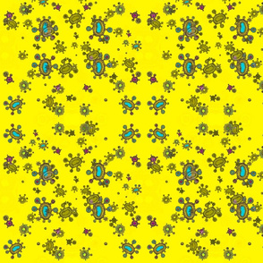 yellow cells