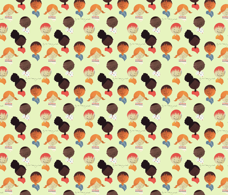 You Make Me Smile fabric by maile on Spoonflower - custom fabric