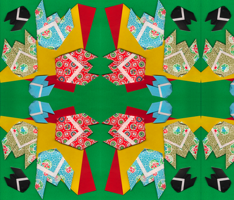 Cicadas fabric by ljd on Spoonflower - custom fabric