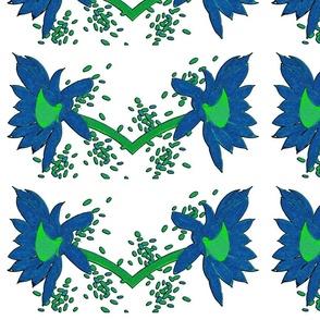 Waterlillies Blue
