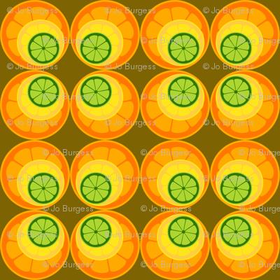 fruit slice wallpaper