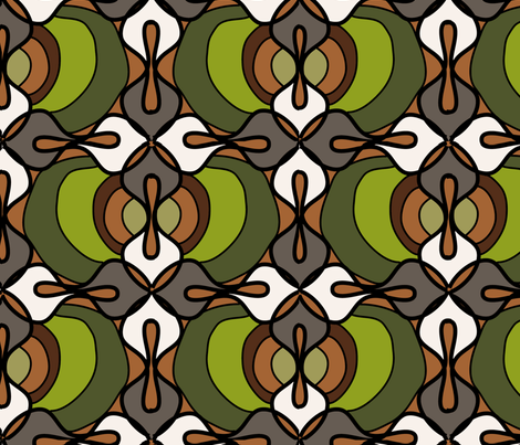 Faux wax-Olive fabric by designertre on Spoonflower - custom fabric