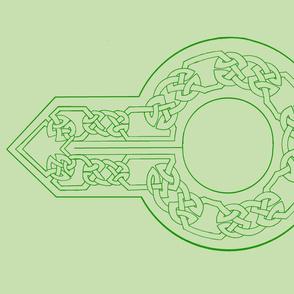 open border collar green