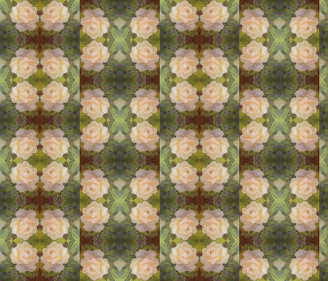 Garden of Peace Collage fabric by leslipepper on Spoonflower - custom fabric