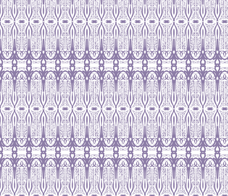 Love Is - Lavender fabric by kristopherk on Spoonflower - custom fabric