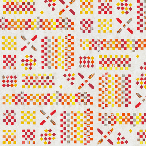 PlaitedPaper fabric by annosch on Spoonflower - custom fabric