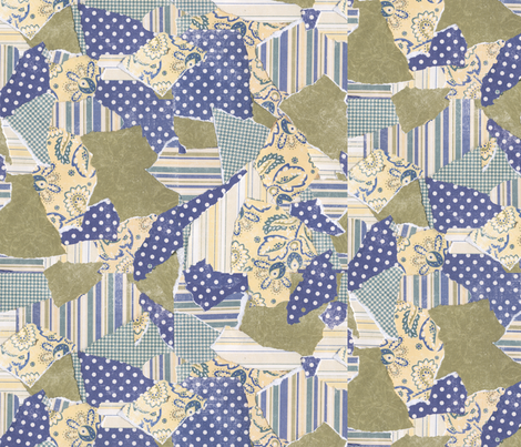 Country Patches fabric by poetryqn on Spoonflower - custom fabric