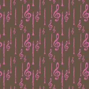 Treble Clefs & Clarinets
