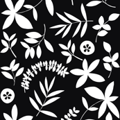 botanical - Black