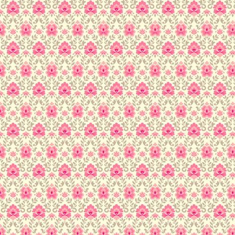 funnybunny.se background - pink fabric by helena on Spoonflower - custom fabric
