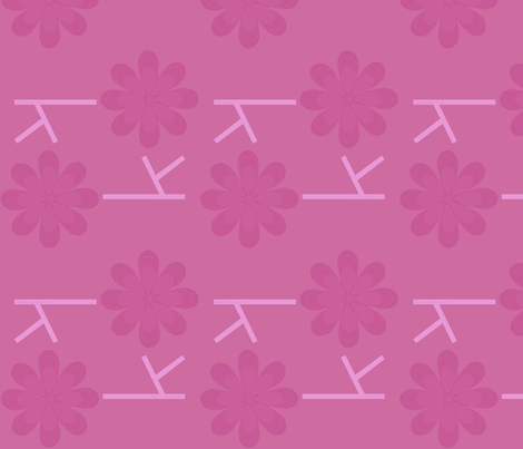 Girly Ks fabric by jnifr on Spoonflower - custom fabric