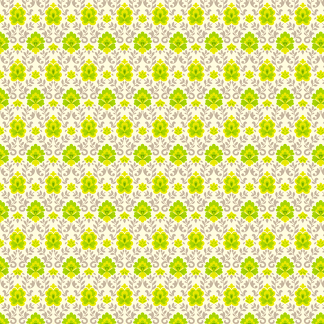 funnybunny.se background - green fabric by helena on Spoonflower - custom fabric