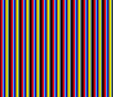 Man Love Palette in Stripes fabric by dolphinandcondor on Spoonflower - custom fabric