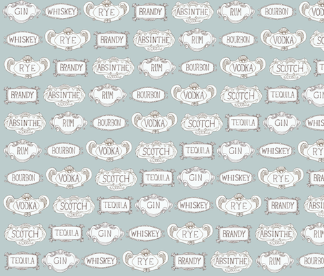 Proof - Grey fabric by sparegus on Spoonflower - custom fabric