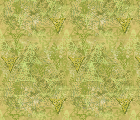 celtic camo fabric by ingridthecrafty on Spoonflower - custom fabric