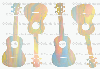 Marbled Ukes - 3