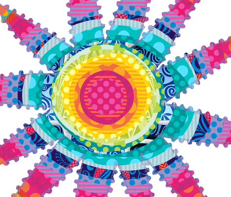Fantasy Piñata Panel fabric by spellstone on Spoonflower - custom fabric