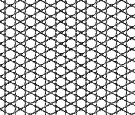 woven metal rope fabric by saltlabs on Spoonflower - custom fabric