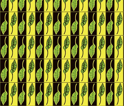 Releaved Three fabric by nalo_hopkinson on Spoonflower - custom fabric