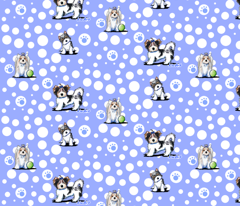 LG Biewer Yorkie Terrier Boys fabric by kiniart on Spoonflower - custom fabric