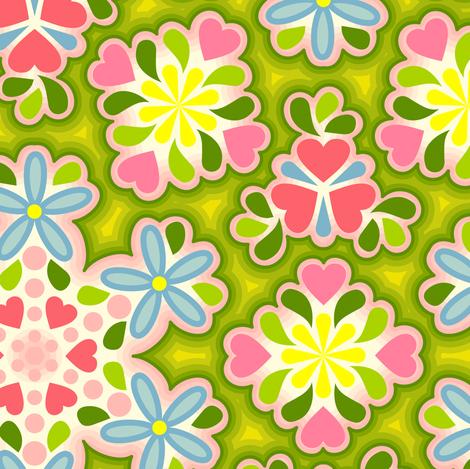 Elvira Fina fabric by helena on Spoonflower - custom fabric