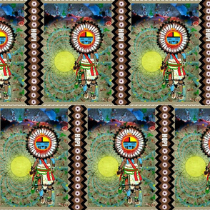 Dance in the Desert of Tawa Kachina-ed