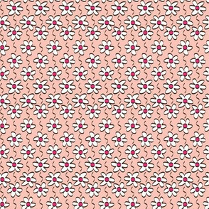 Pink Daisy Chain © ButterBoo Designs 2010