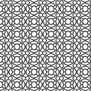 Black and White Abstract Pattern  © ButterBoo Designs 2009