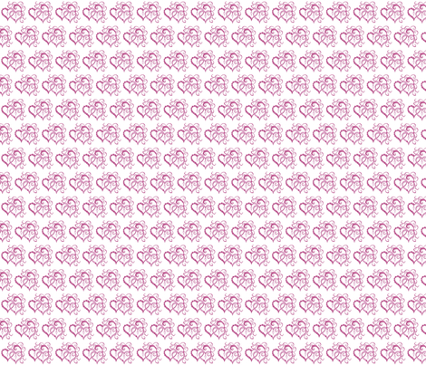 ForeverHearts fabric by morellco on Spoonflower - custom fabric