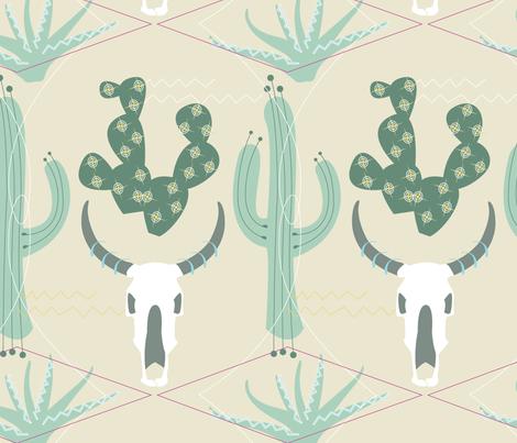 DesertCactus fabric by daynagedney on Spoonflower - custom fabric