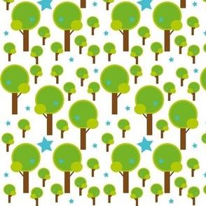 forest tree stars