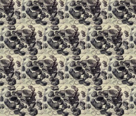 empty_vessels_2 fabric by hollishammonds on Spoonflower - custom fabric