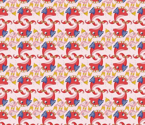PiscesZodiac fabric by morellco on Spoonflower - custom fabric