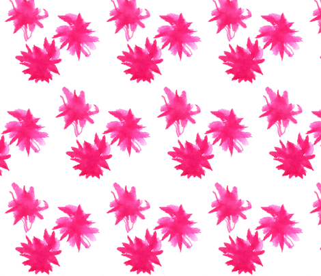 Asters fabric by keska on Spoonflower - custom fabric