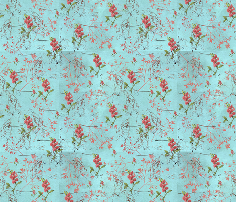 April Showers fabric by poetryqn on Spoonflower - custom fabric